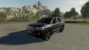 Toyota Land Cruiser 200 2016 for Farming Simulator 2019