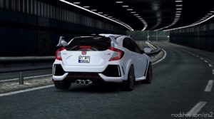 Honda Civic Type-R Fix 1.35.X for Euro Truck Simulator 2