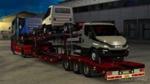 Purchasable Car Transporter Trailer for Euro Truck Simulator 2