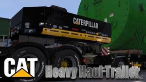 Special Transport Cat Skin for Euro Truck Simulator 2