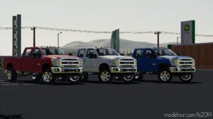2011 Ford F350 Crewcab Edit for Farming Simulator 2019