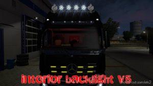 Interior Back Lights V5 1.36 for Euro Truck Simulator 2