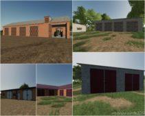 Placeable Garage Pack for Farming Simulator 2019