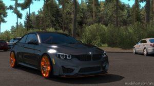 BMW M4 GTS Coupe 2016 [1.35+] for American Truck Simulator