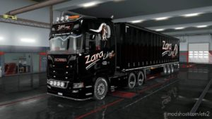Zara Line Truck & Trailer for Euro Truck Simulator 2