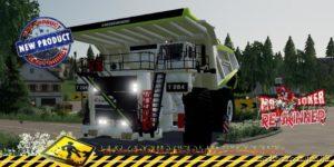 Dumper Liebherr Eiffage V1.5 for Farming Simulator 2019