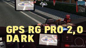 GPS RG Pro Dark V2.0 for Euro Truck Simulator 2