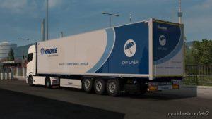 Doors For Krone Dryliner By Sogard3 1.36 for Euro Truck Simulator 2