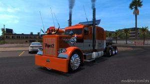 Peterlbilt 389 Edition Custom Danger [1.36.X] for American Truck Simulator
