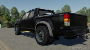 Lizard Pickup 2014 5Th Wheel Edited for Farming Simulator 2019