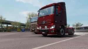 Mercedes-Benz Actros Mp4 Fix V1.2 1.35 for Euro Truck Simulator 2