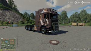 Scania. N Drag Pernilla V1.1 for Farming Simulator 2019