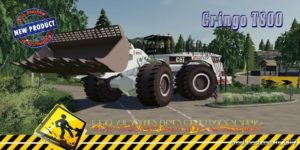 Wheel Loader Cat994 Eiffage V1.5 for Farming Simulator 2019