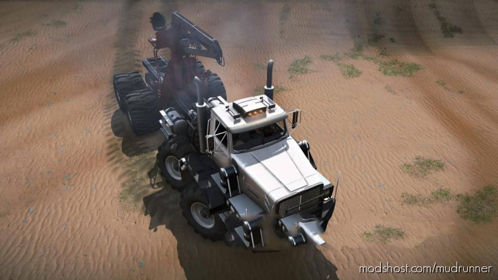 Western 714Wm Mod Truck for MudRunner