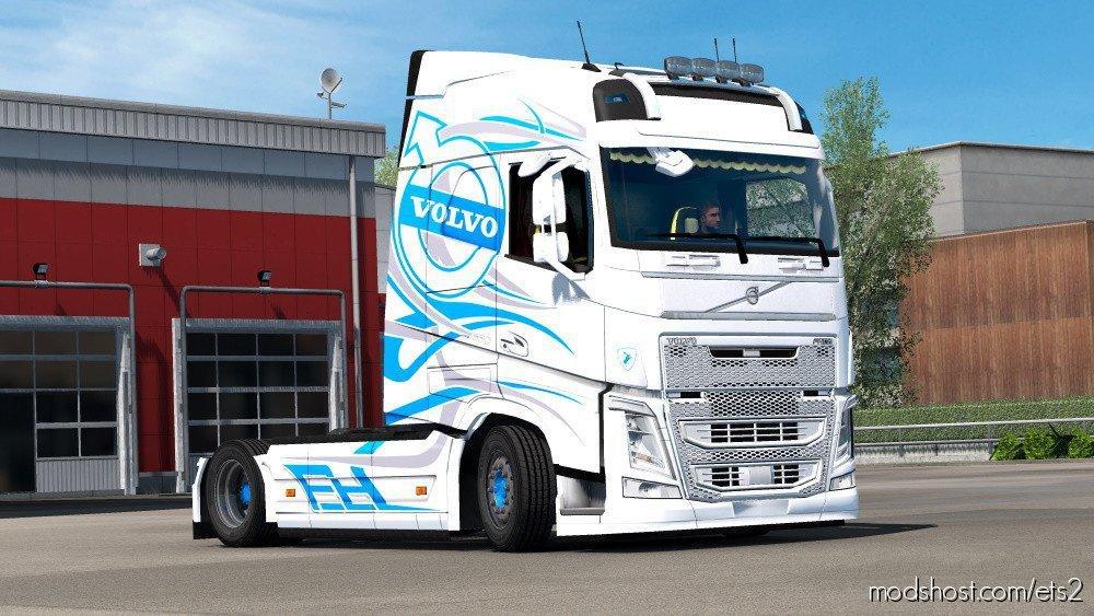 Custom Luis E Filipe Skin For Volvo Fh 2012 for Euro Truck Simulator 2