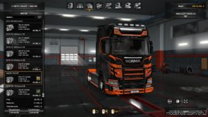 Alexd 1000 Hp Engine All Trucks V1.2 1.35.X for Euro Truck Simulator 2