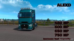 Alexd Renault Trucks T Range New Engine V1.1 for Euro Truck Simulator 2