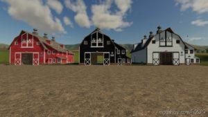 Placeable Straw Barn V2.0 for Farming Simulator 2019