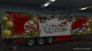 Krone Chrismas Edition Colliner 1.36 for Euro Truck Simulator 2