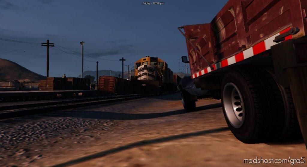 NEW Train Station [Menyoo] for Grand Theft Auto V