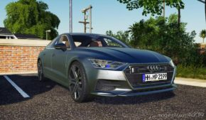Audi A7 for Farming Simulator 2019