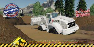 Liebherr 550 Eiffage V1.5 for Farming Simulator 2019