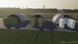 Round Bale Storages for Farming Simulator 2019