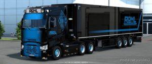Roml Cargo Logistics Skinpack for Euro Truck Simulator 2