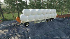 Fliegl Dpw 180/210 Bales-Autoload V1.3 for Farming Simulator 2019