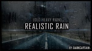 Realistic Rain V2.7 By Darkcaptain [1.35 – 1.36] for American Truck Simulator