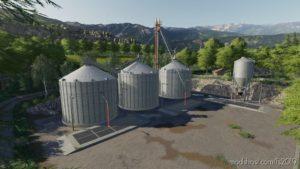 Grain Silo Set With Multifruit V1.1 for Farming Simulator 2019