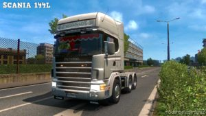 Scania 144L Truck 1.33.X & 1.36 for Euro Truck Simulator 2