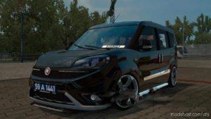 Fiat Doblo 2018 V1.1 [1.36] for American Truck Simulator