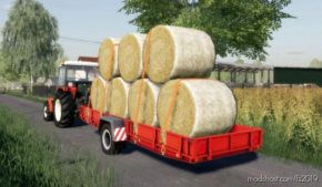 Np-25 Autoload Bale Trailer for Farming Simulator 2019