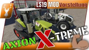 Claas Axion Terra Trac X-Treme Edition V1.0.0.1 for Farming Simulator 2019