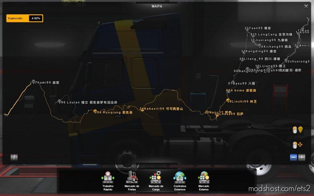 Profile Ch Chung Hwa Taiwan & China Map By Yikuan Su 1.36 for Euro Truck Simulator 2