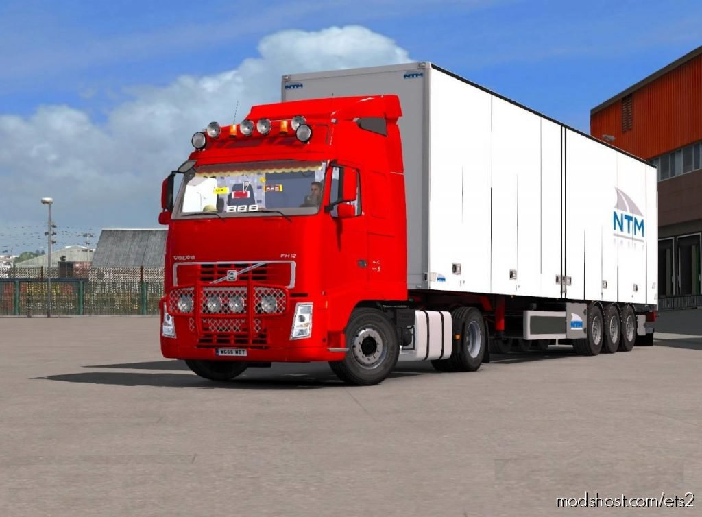 Volvo Fh12 1.36.X for Euro Truck Simulator 2