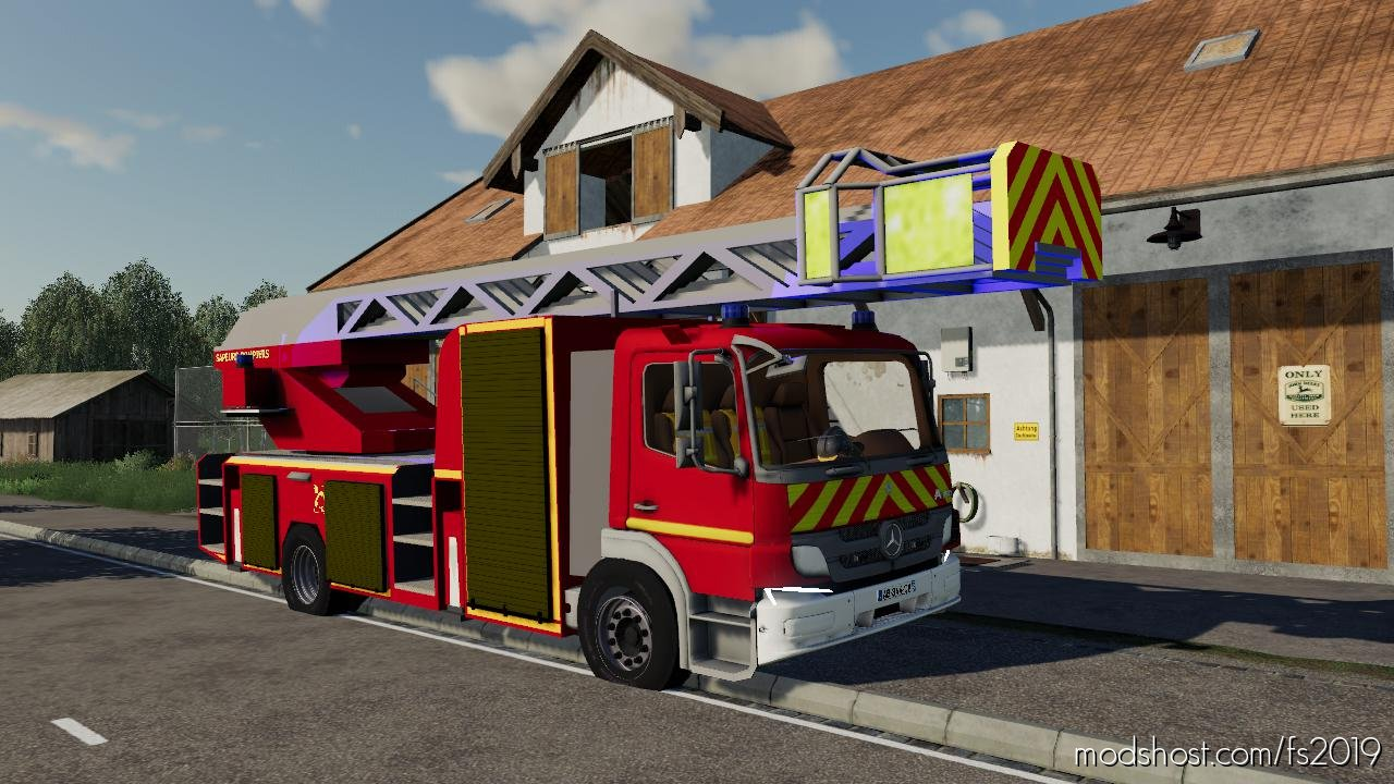 Epc Sapeurs Pompiers for Farming Simulator 2019