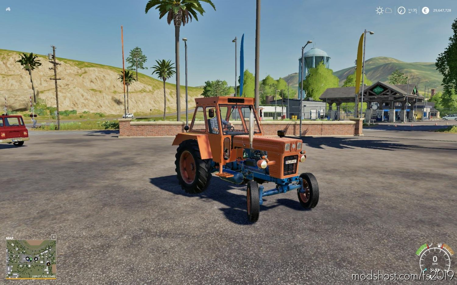 Utb Trapez for Farming Simulator 2019