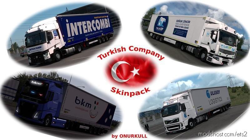 Turkish Company Skinpack for Euro Truck Simulator 2