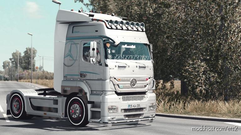Mercedes Benz Axor 1.36.X for Euro Truck Simulator 2