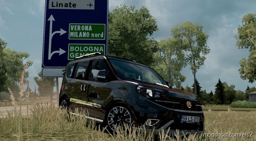 Fiat Doblo D4 V1R20 1.36 for Euro Truck Simulator 2