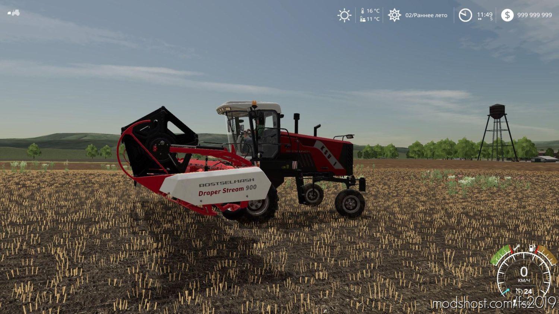 Rostselmash Ksu 1 V1.2.2 for Farming Simulator 2019