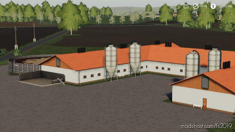 Danish Pig Stable for Farming Simulator 2019