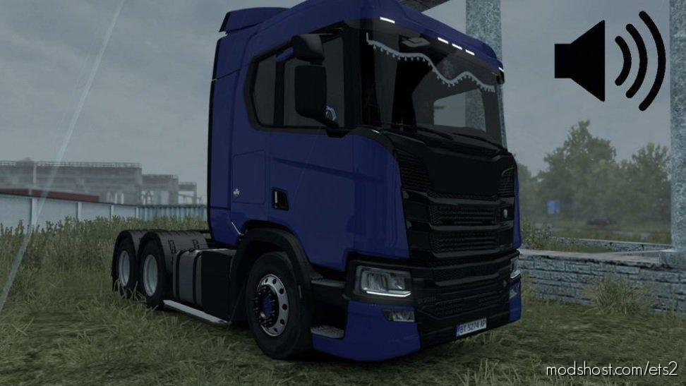 Scania R 2016 Ronco/Direct Sound 1.36.X for Euro Truck Simulator 2