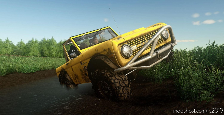 Exp19 Ford Bronco'66 Crawler for Farming Simulator 2019