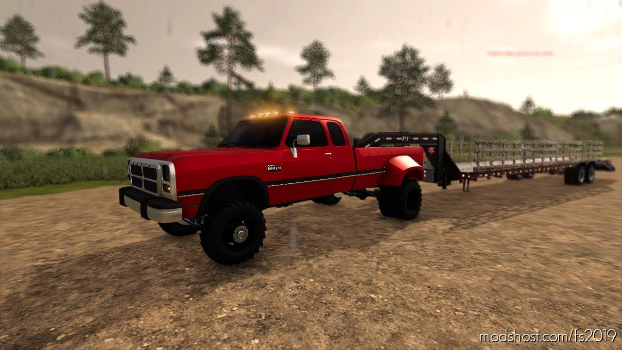 Exp19 Dodge Extcab 1Stgen Pack for Farming Simulator 2019