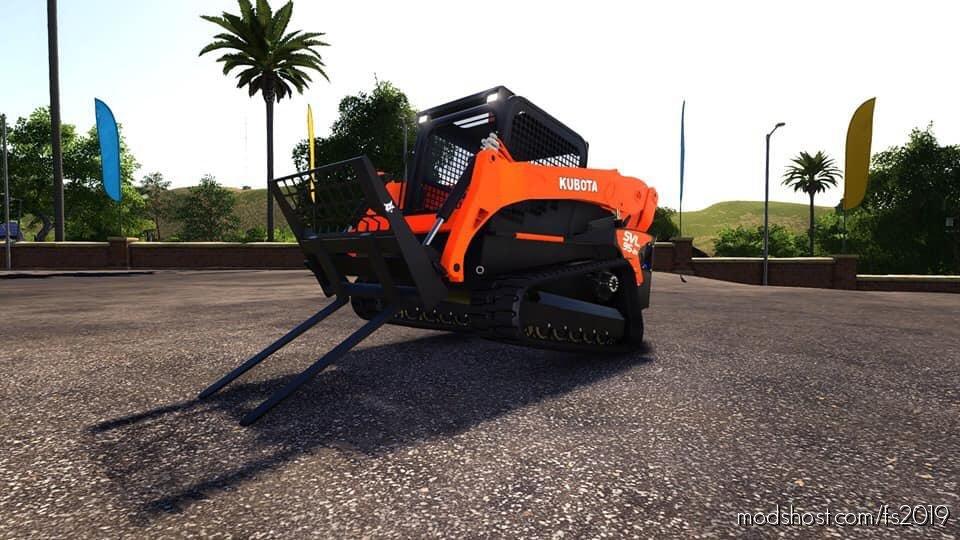 Kubota Svl Skid Steer for Farming Simulator 2019