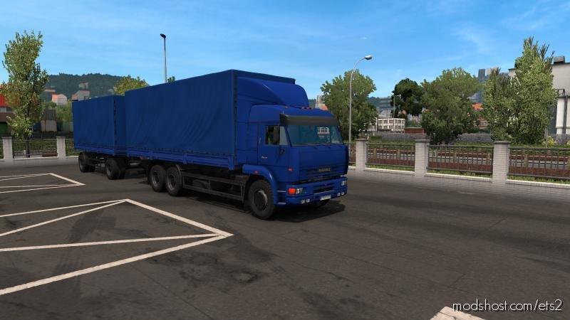 Kamaz 54-64-65 1.36.X for Euro Truck Simulator 2