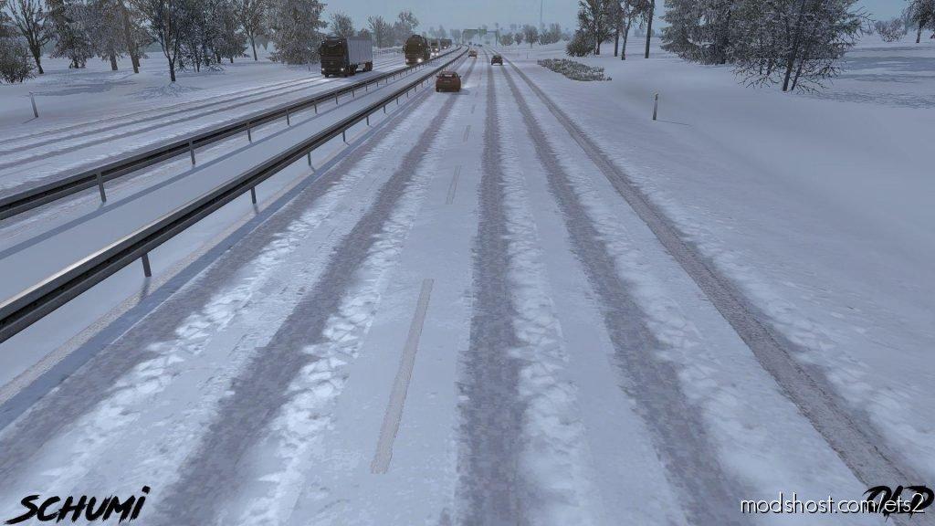 Addon For Frosty Heavy Winter V0.9 for Euro Truck Simulator 2